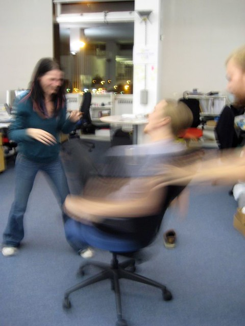 More Office Chair Spinning Moo Tech Terrace Friday Flickr