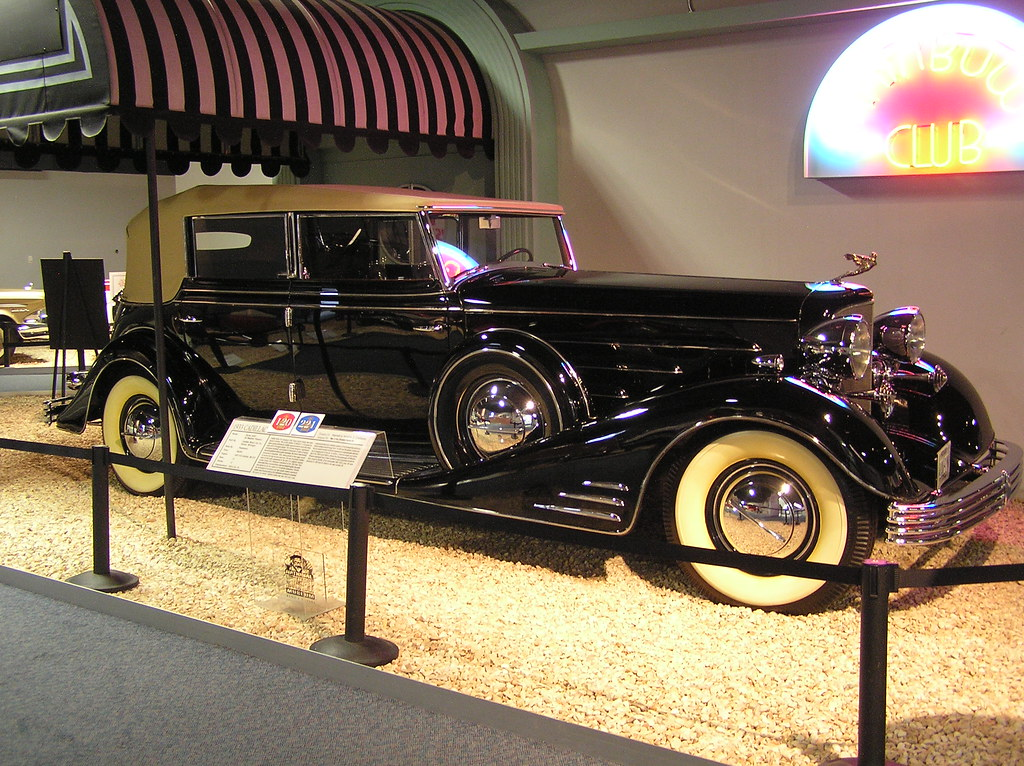 National Auto Museum Reno Al Jolson S 1933 Cadillac Pha