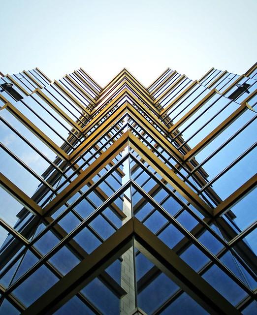 Geometric Building Tanakawho Flickr