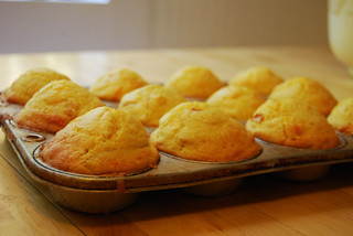 Ham and Cheese Corn Muffins | by notes from the trenches