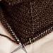 to use knitting lingo, I'm stash busting...