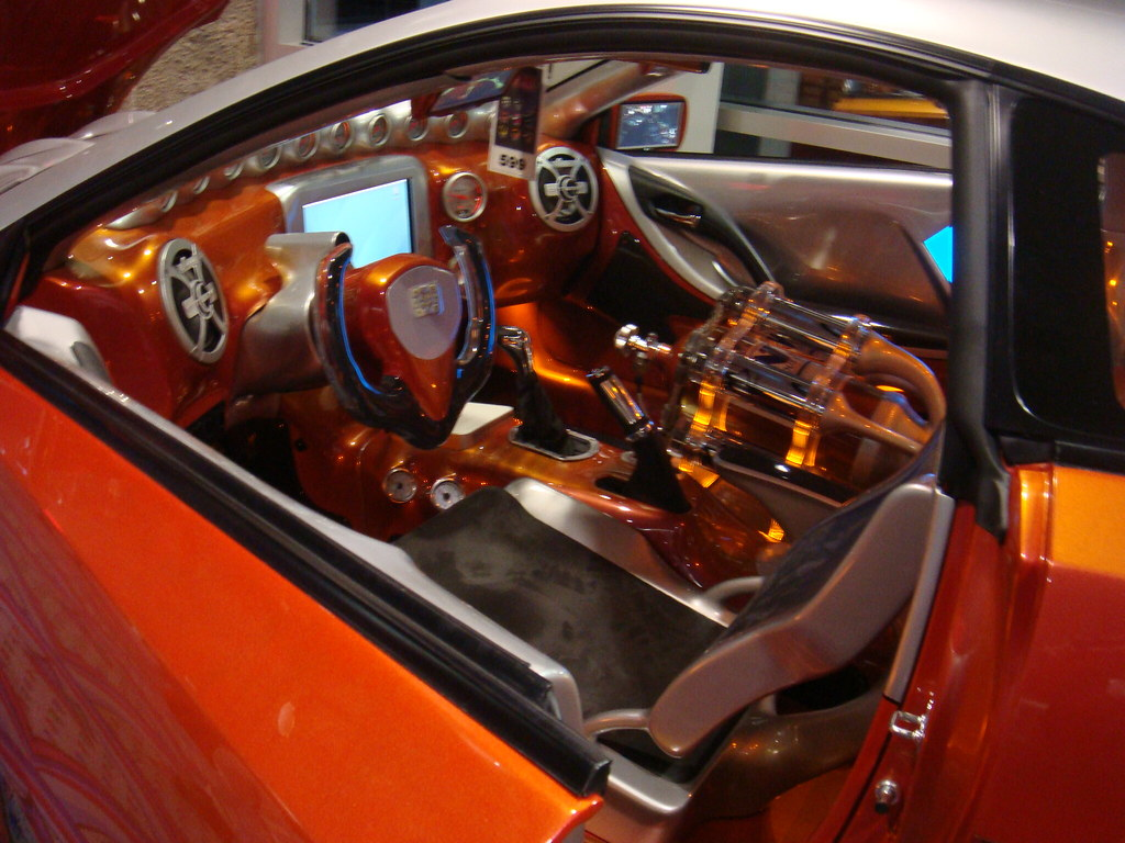 Custom 350z Interior Sema 2008 Chris Leblanc Flickr