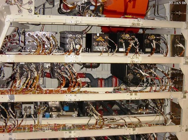 01 30 06 Endeavour Avionics Bay A Portion Of Endeavour S