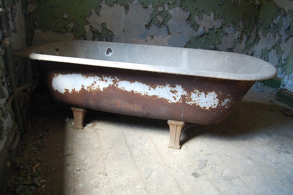 Как из старой чугунной ванны сделать новую