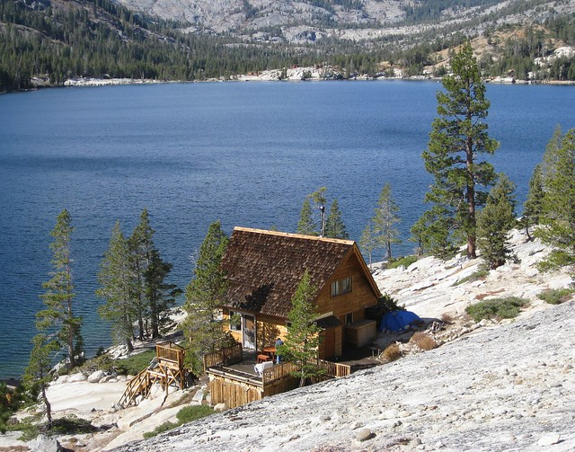 Cabin on lower echo lake flickr photo sharing for Echo lake ca cabine