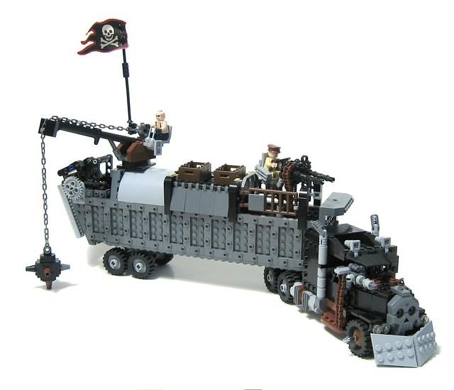 Lego City Race Car Transporter