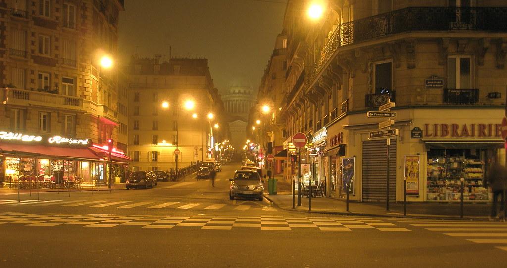 city street corner at night - photo #11