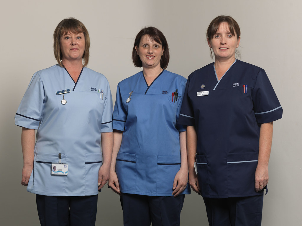 Nhs Scotland Uniforms New Uniforms Launched In June 2008