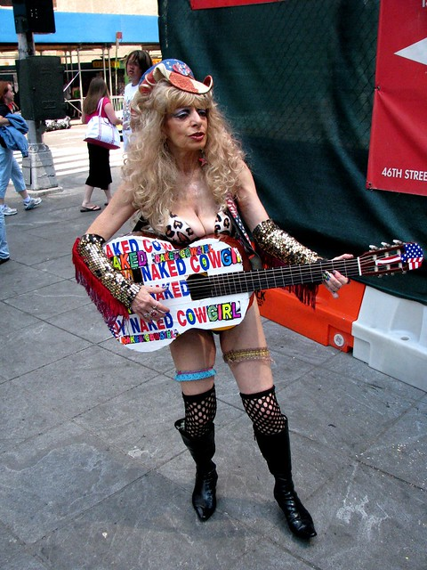 Naked cowgirl of times square pic 74