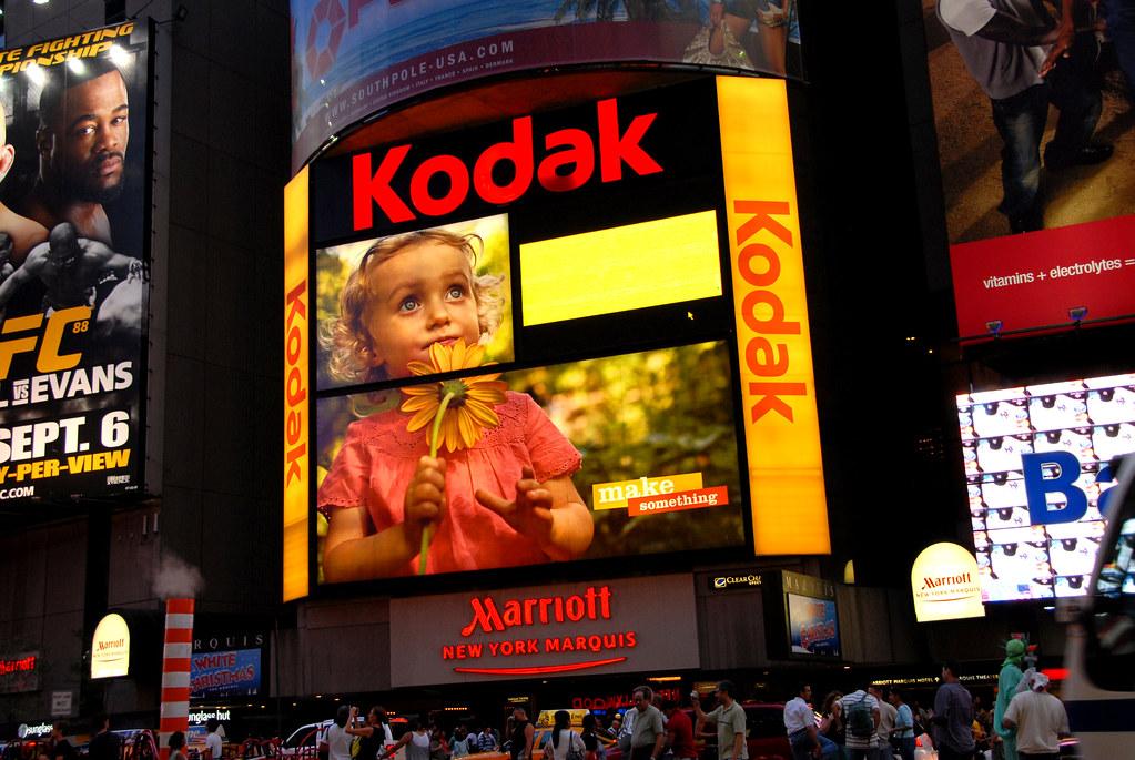 kodak times square
