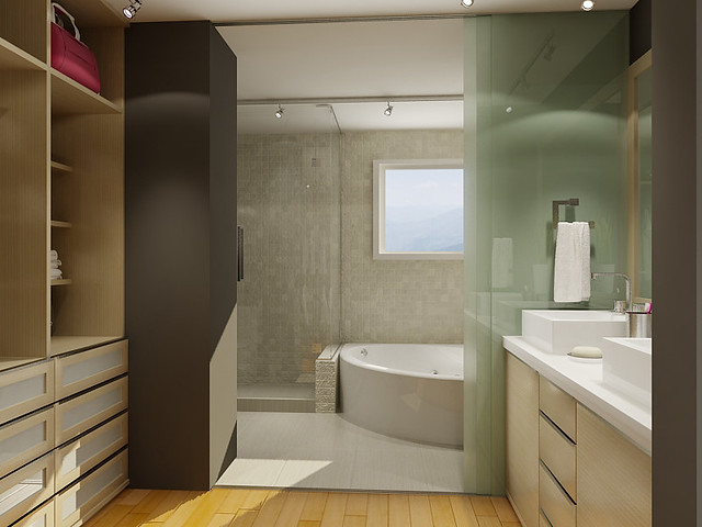 Bathroom Walk In Closet Private Residence Design 3d Mo Flickr