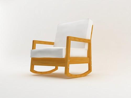 Lillberg Rocking Chair Illustrated By Zuleozu Using