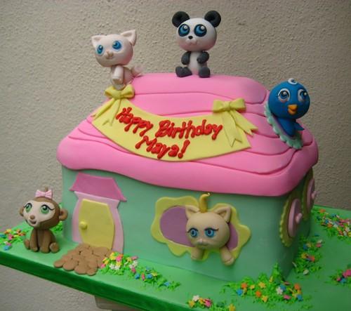 Littlest Pet Shop Cake Topper