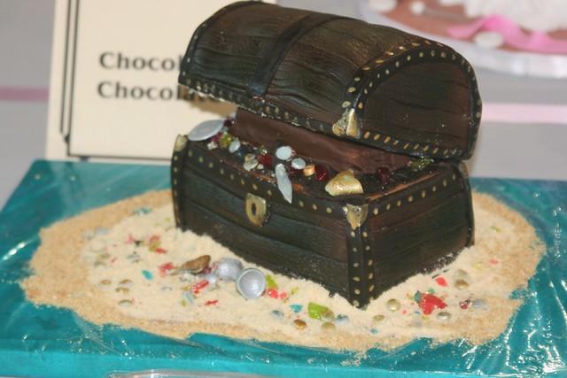 Treasure Chest Cake Topper