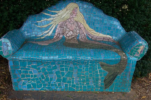 Mosaic couch in Tasmania | by Wendy Tanner