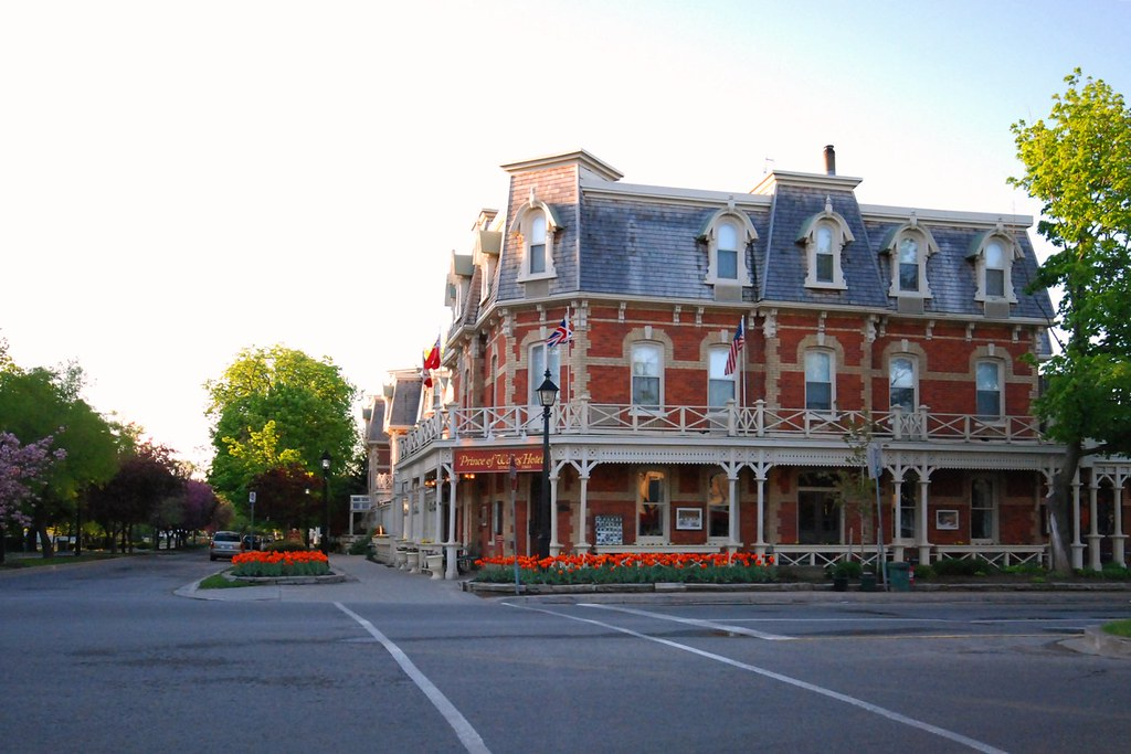 prince of wales hotel niagara on the lake at dawn flickr. Black Bedroom Furniture Sets. Home Design Ideas