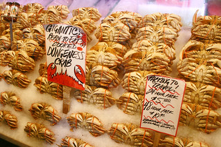 Gigantic Dungeness Crab - seattle pike place market | by woodleywonderworks