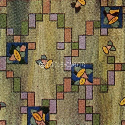 Retro Linoleum Kitchen Flooring: 1930s Interior Design Resources
