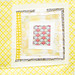 Yellow Squares Quilt Block 5