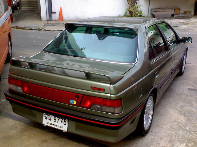 peugeot 405 mi16 spoiler t16 roof spoiler carcept 405 mi16 flickr. Black Bedroom Furniture Sets. Home Design Ideas