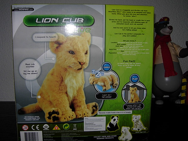 Interactive Map Of Europe >> WowWee Alive Interactive Lion Cub Toy | I got as one of the … | Flickr