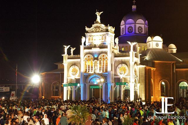 romeria cartago 2008 basilica de los angeles costa rica