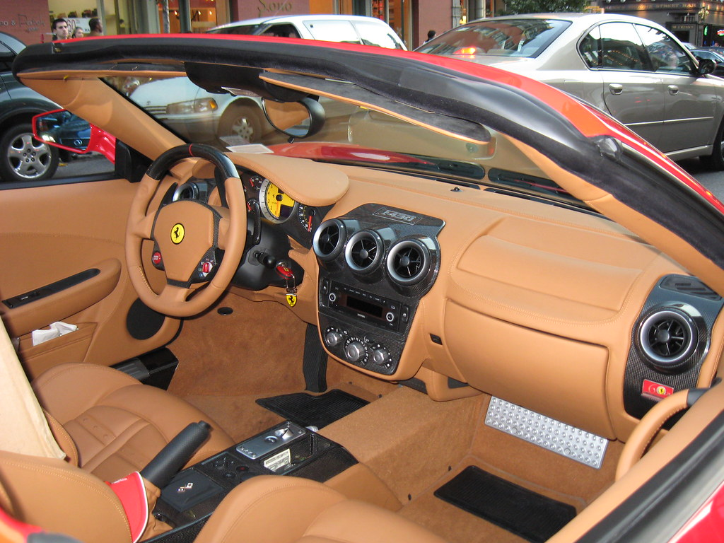ferrari f430 spider f1 interior here 39 s a little inside