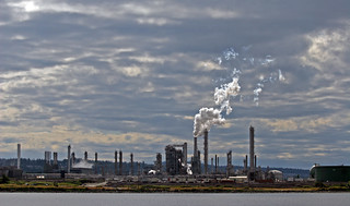 Oil Refinery on Fidalgo Island near Anacortes, WA | by 24hourmoon