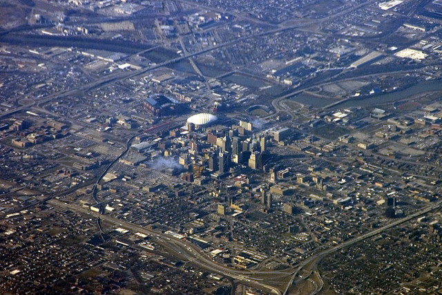 Indianapolis Indiana Aerial Photo Not The Highest
