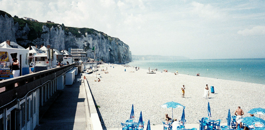 The Beach At Dieppe  France