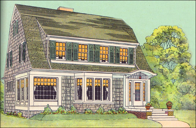 1925 latham in american home builder magazine american for Modern home builder magazine