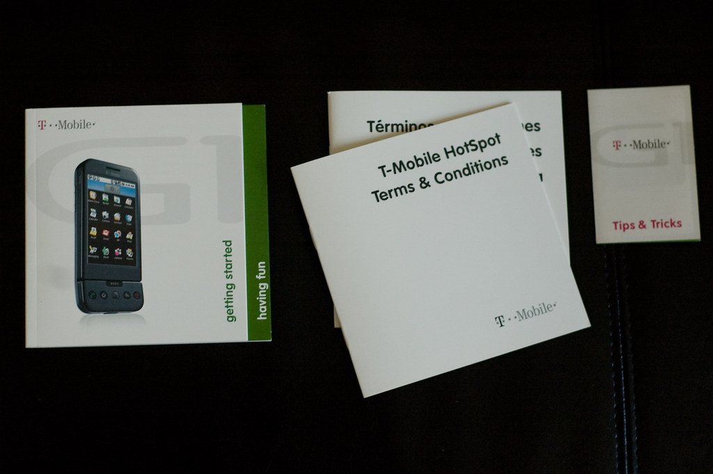 Google Android T-Mobile G1 Phone Unboxing - -10 | Paul Martin | Flickr
