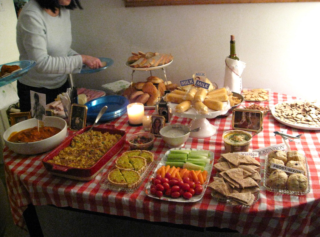 Right! Food for an adult oscar party join