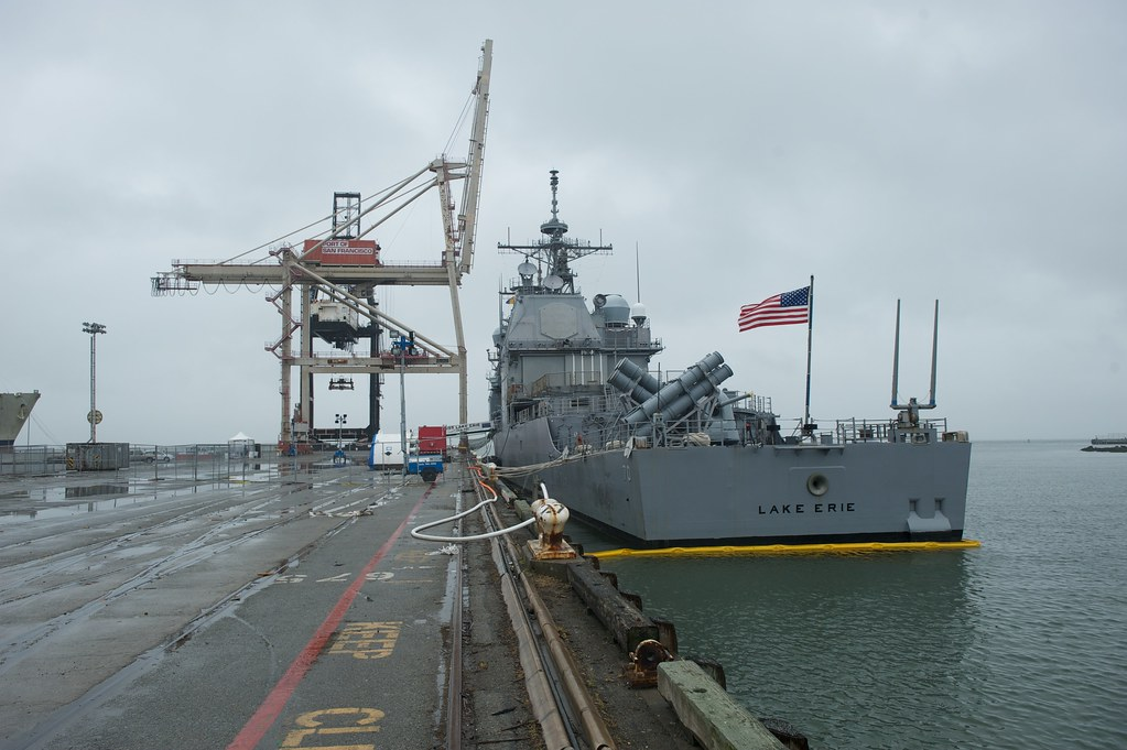 USS Lake Erie at Pier 80 | Flickr - Photo Sharing!