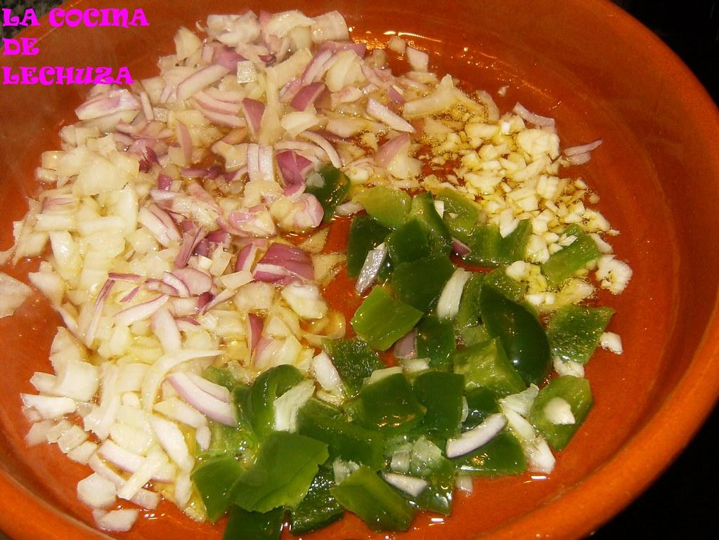 Arroz con polbo sofrito lechuza 39 s flickr - Arroz con verduras y costillas ...