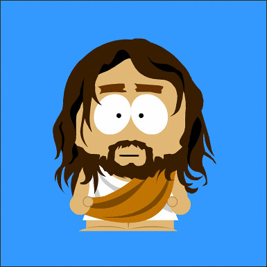Jesus South Park style | mhuggins57 | Flickr