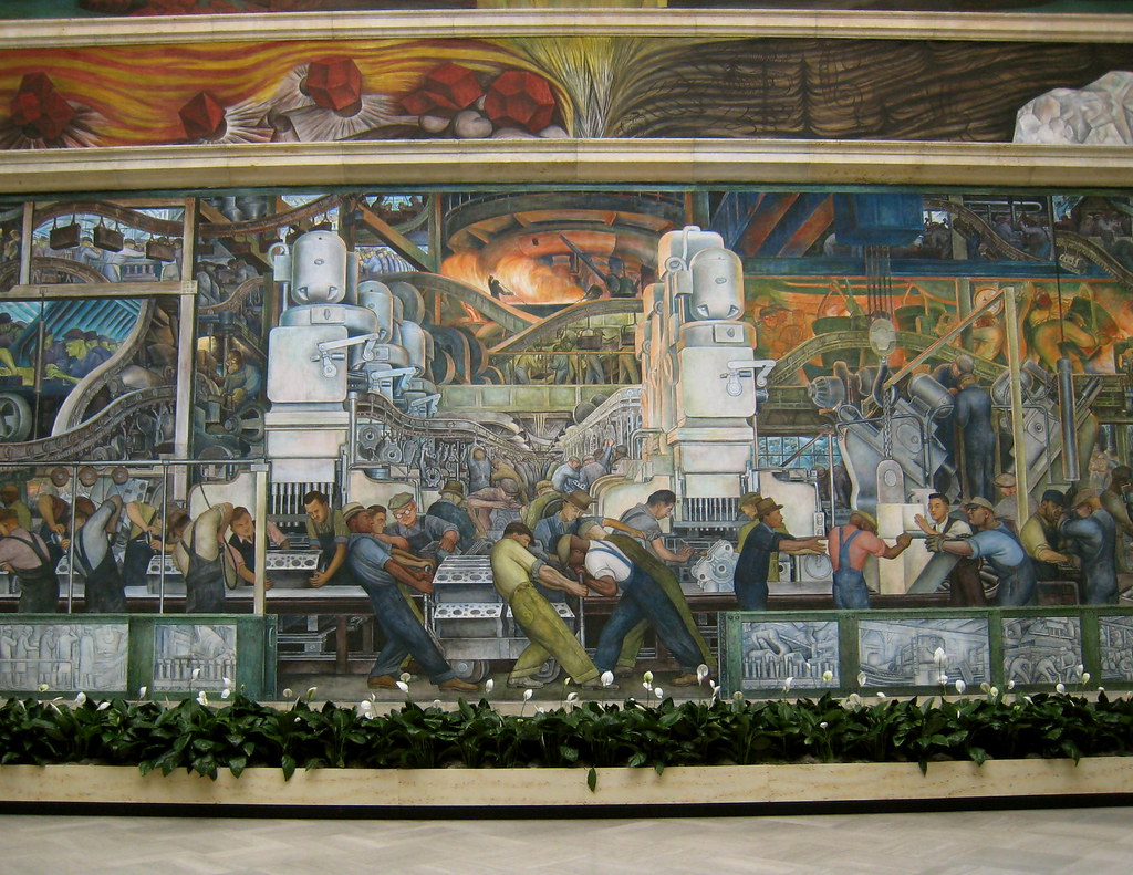 Diego rivera mural dia geeg johnson flickr for Diego rivera dia mural