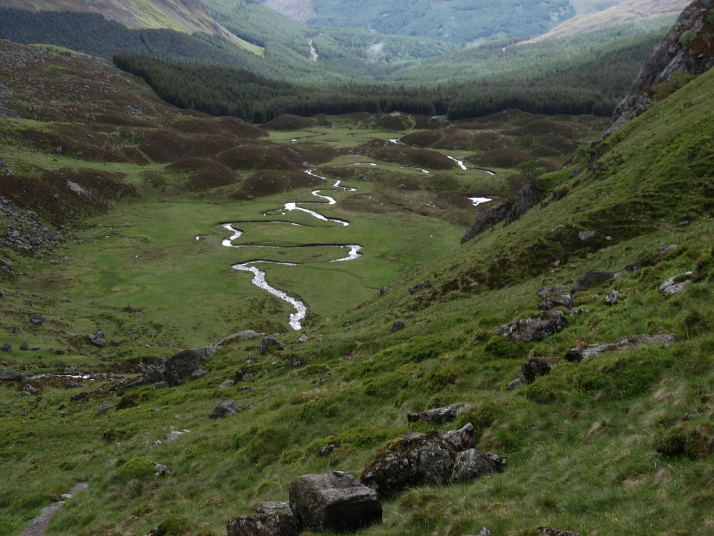 Corrie Fee, Angus, Scotland | Corrie Fee is a class upland g… | Flickr