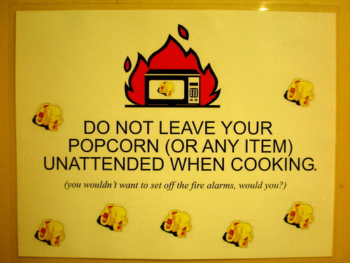 unattended popcorn will be given an espresso and a free puppy | by passiveaggressivenotes