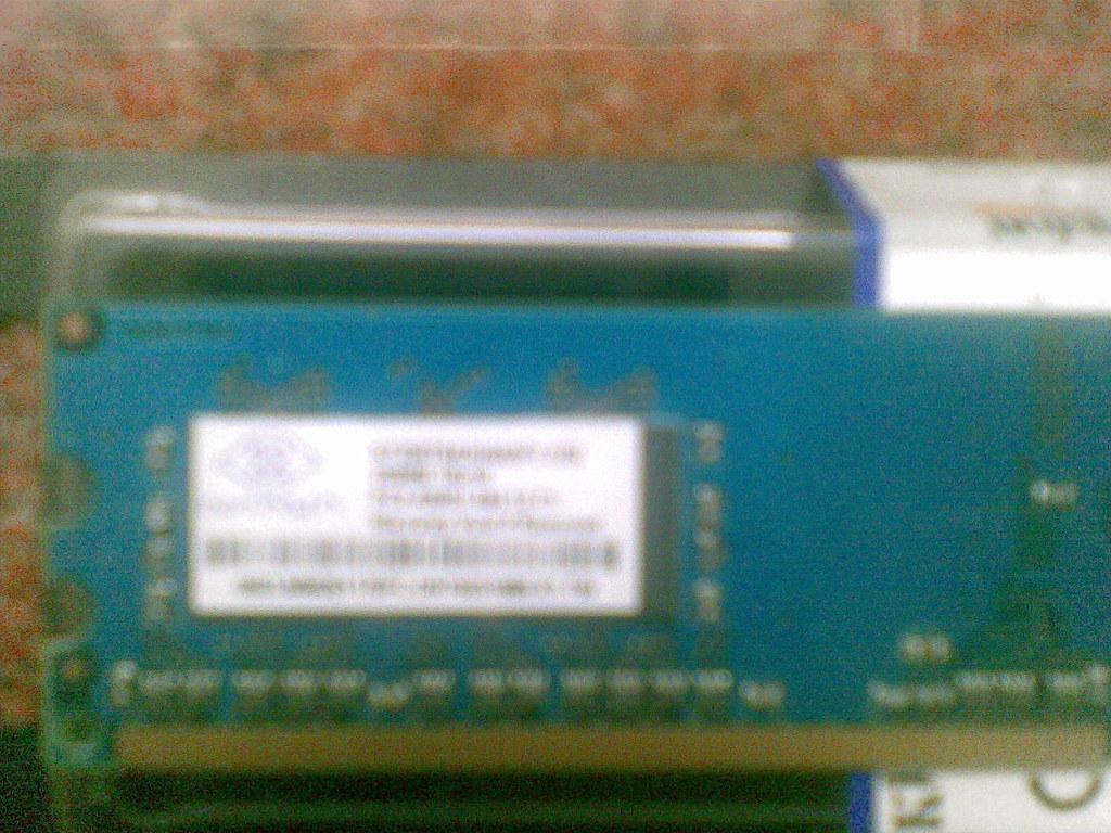 Nanya Pc2 4200u 444 12 C1 256mb 1rx15 Ram 2 X Nanya