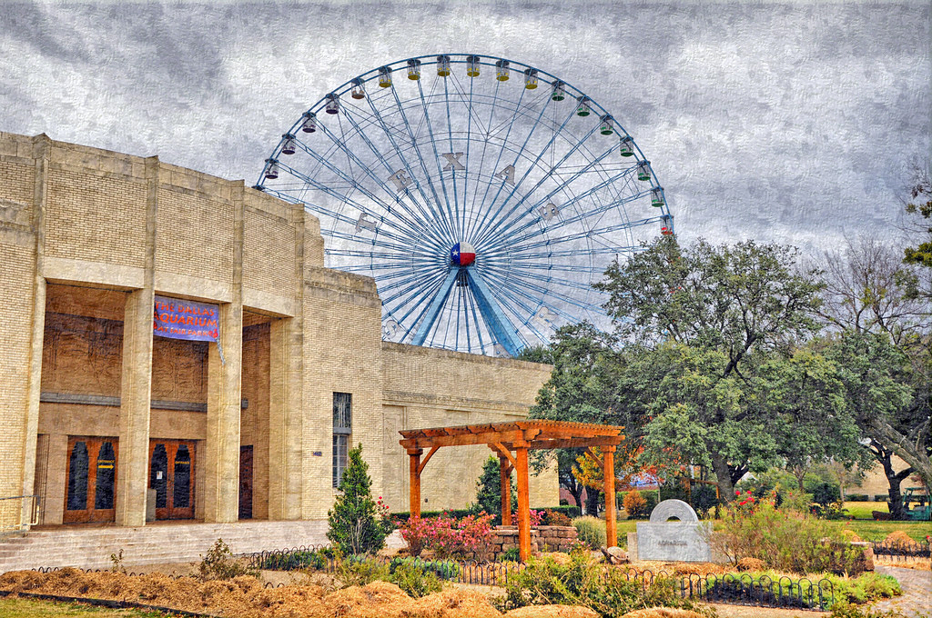 Dsc 9157 Texas Star Ferris Wheel Fair Park Dallas Aquarium
