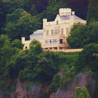 castle of Thomas Gottschalk, talkmaster | by Frizztext