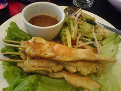 Poulet satay | by clotilde