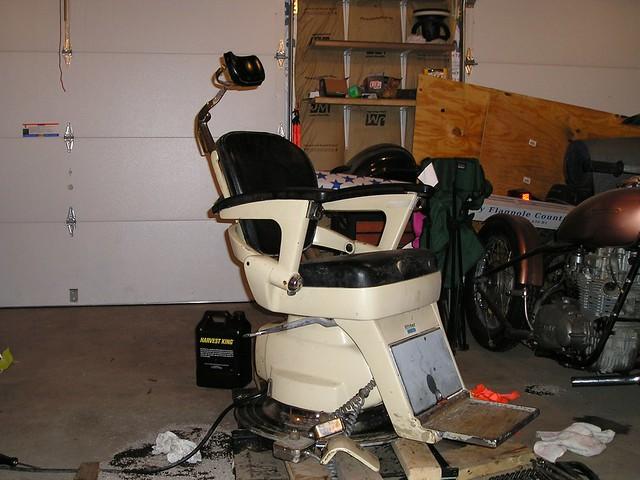 ... danielrforrester Before - Antique Ritter Dental Chair Restoration by  Dan Morphew | by danielrforrester - Before - Antique Ritter Dental Chair Restoration By Dan Mo… Flickr