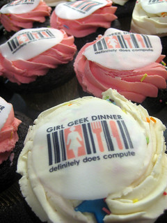 Girl Geek Dinner Cup Cakes | by Annie Mole