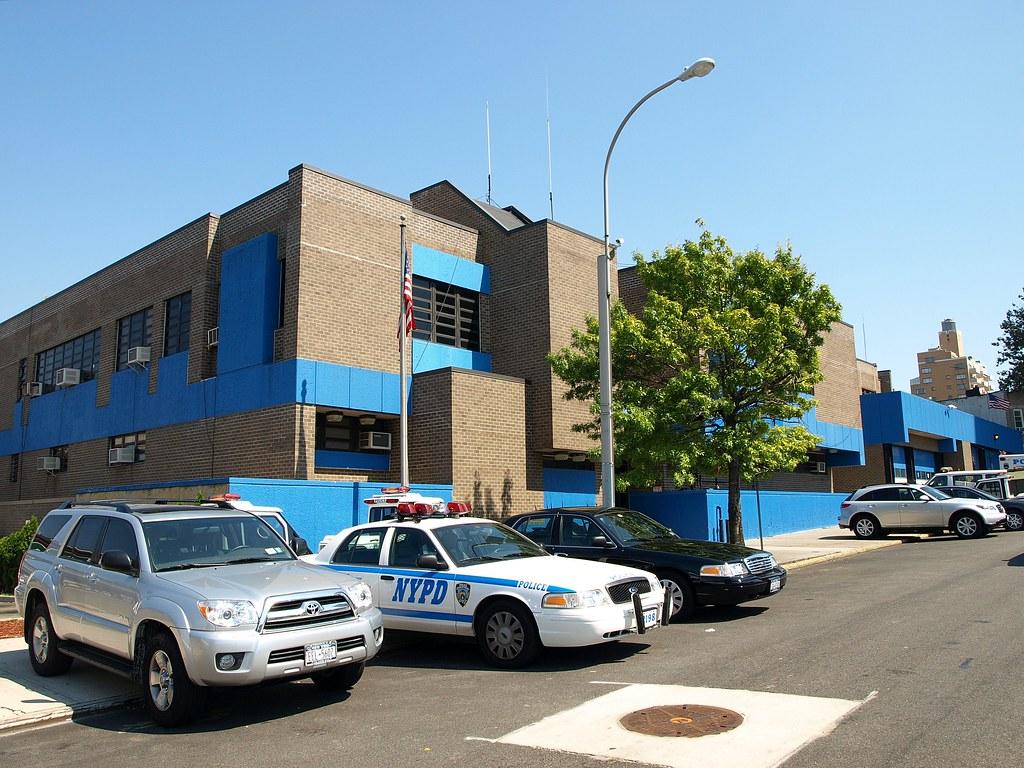 P068 Nypd Police Station Precinct 68 Bay Ridge Brooklyn