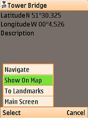 Locify - waypoint options