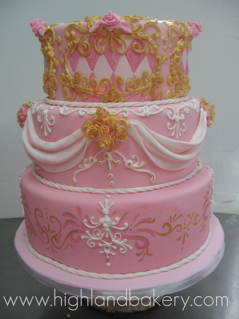 Versaille Wedding Cake