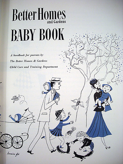 Vintage better homes and gardens baby book 1951 this - Vintage better homes and gardens cookbook ...