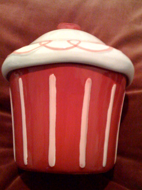 Win This Giant Cupcake Cookie Jar In Our Raffle December 4
